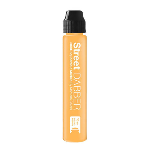 MTN Street Paint Dabber 30 - Pastel Orange 30ml Dripper