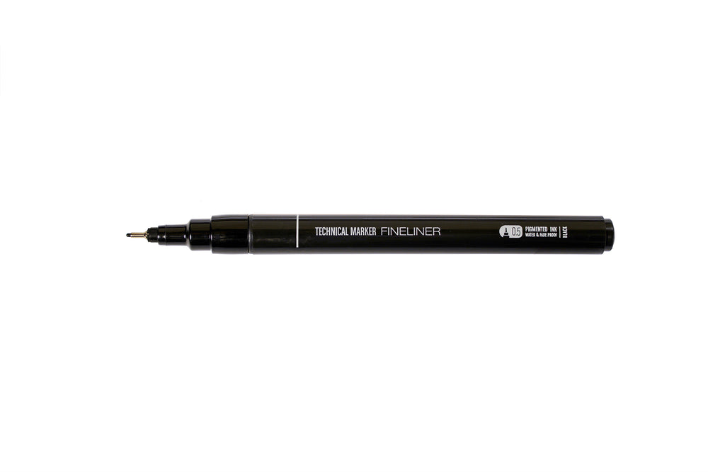 MTN Technical Marker 0.7mm - Black