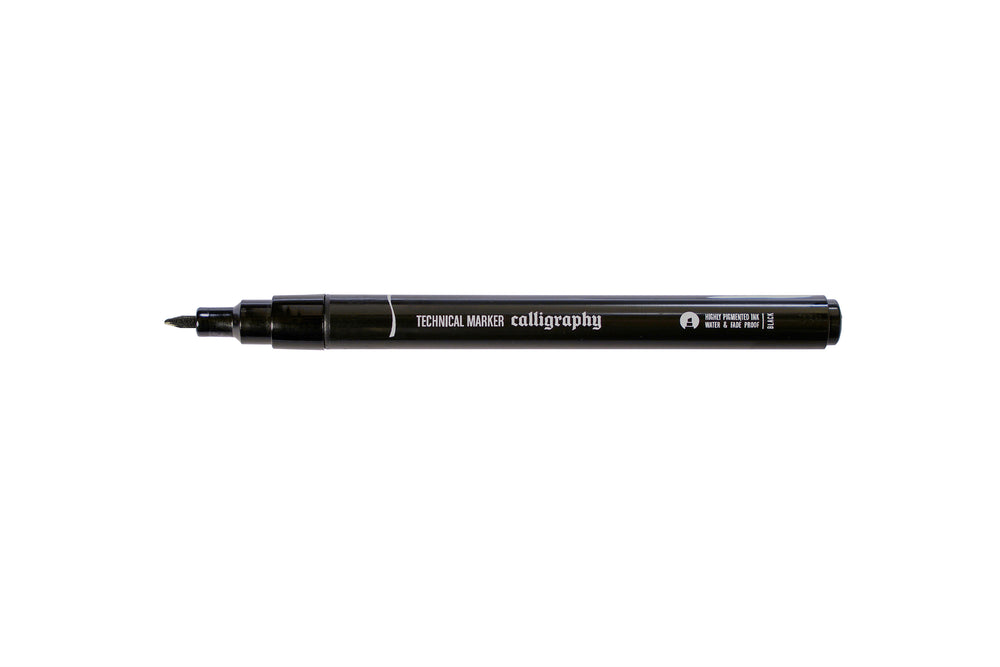 MTN Technical Marker Calligraphy - Black