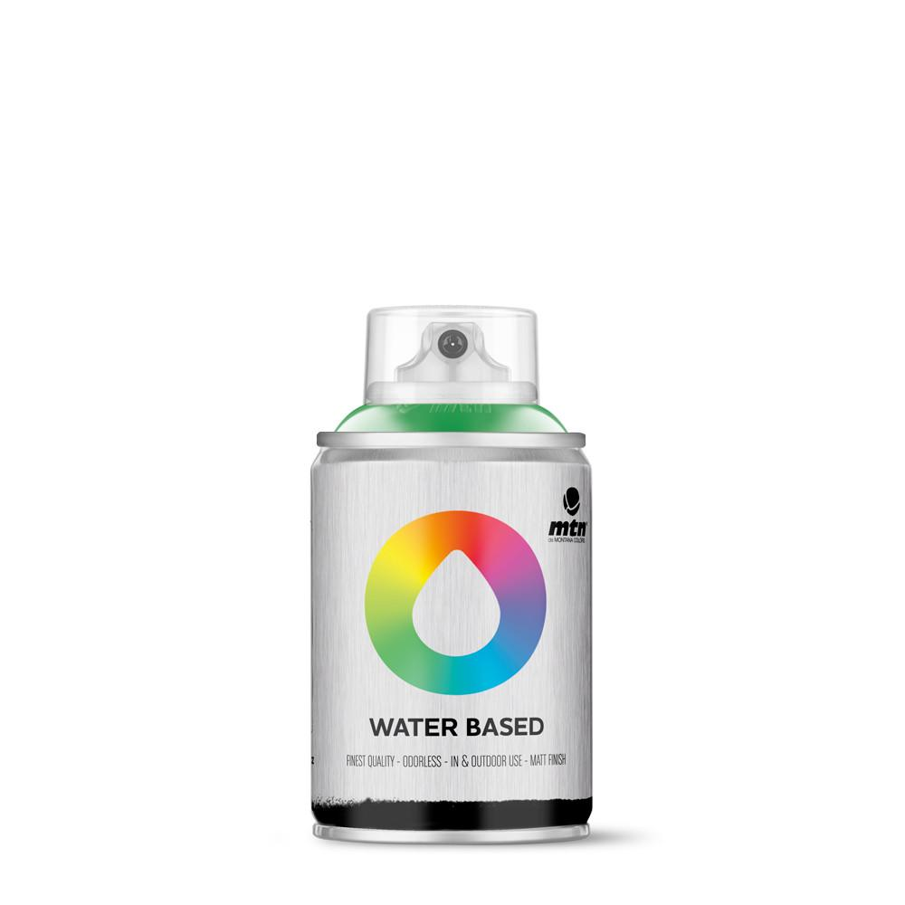 MTN Water based 100ml Spray paint - W1RV6018 - Brilliant Green