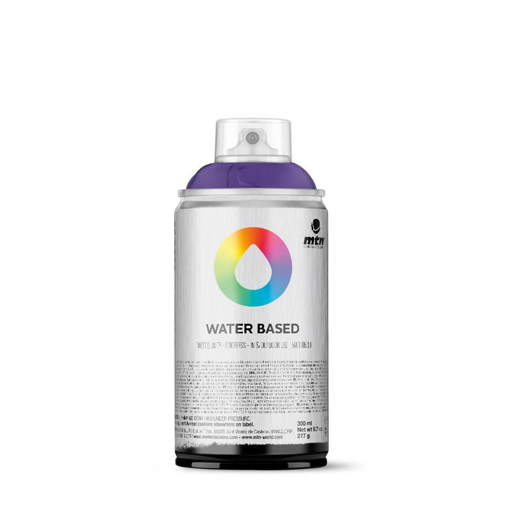 MTN Water Based 300ml Spray Paint - WRV174 - Dioxazine Purple Deep