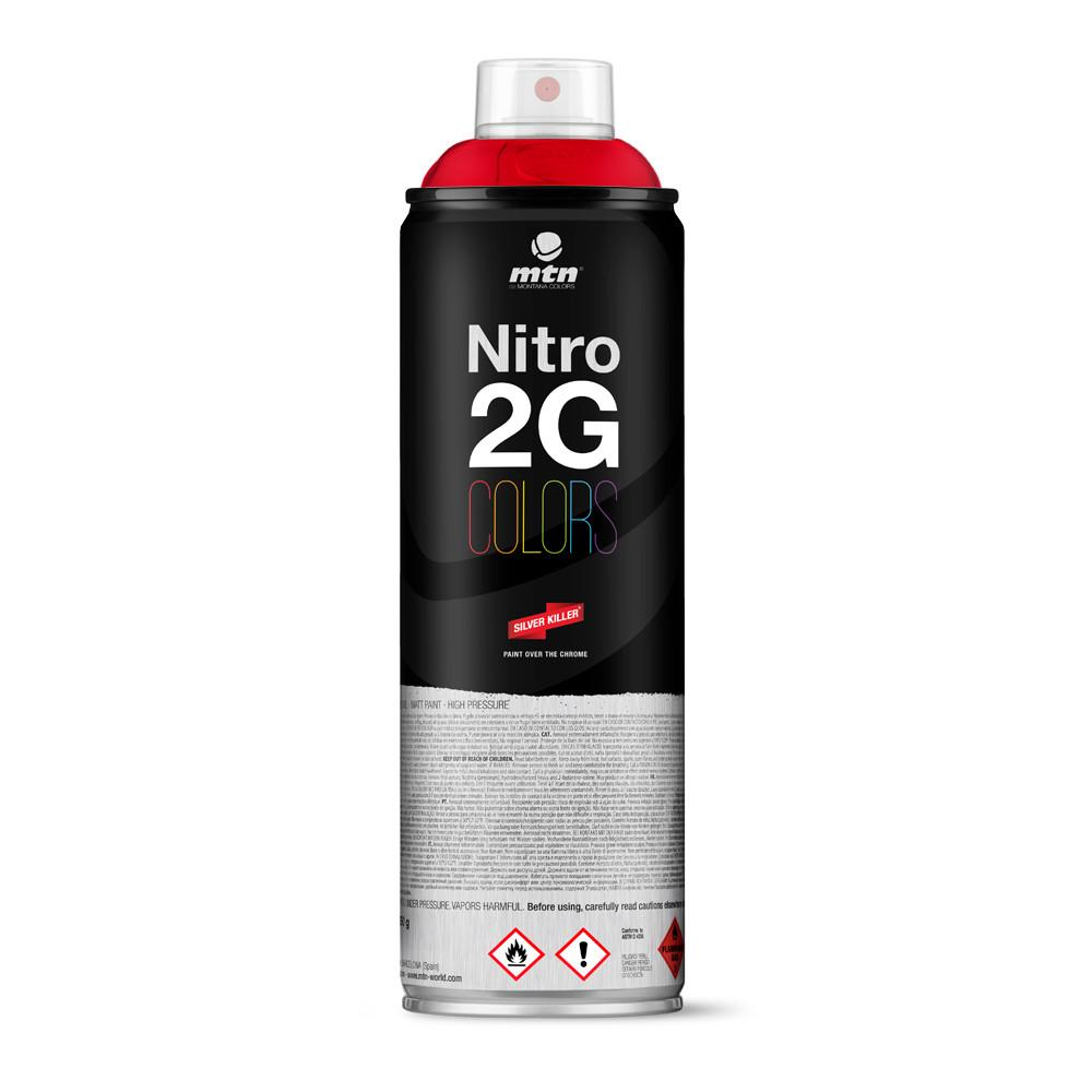 Nitro 2G Colors 500ml - Intense Red