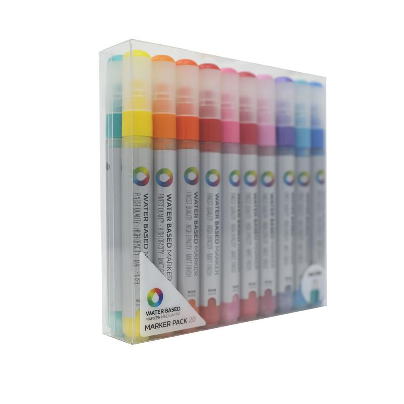 MTN Water Based Paint Marker 20 Pack - 5mm