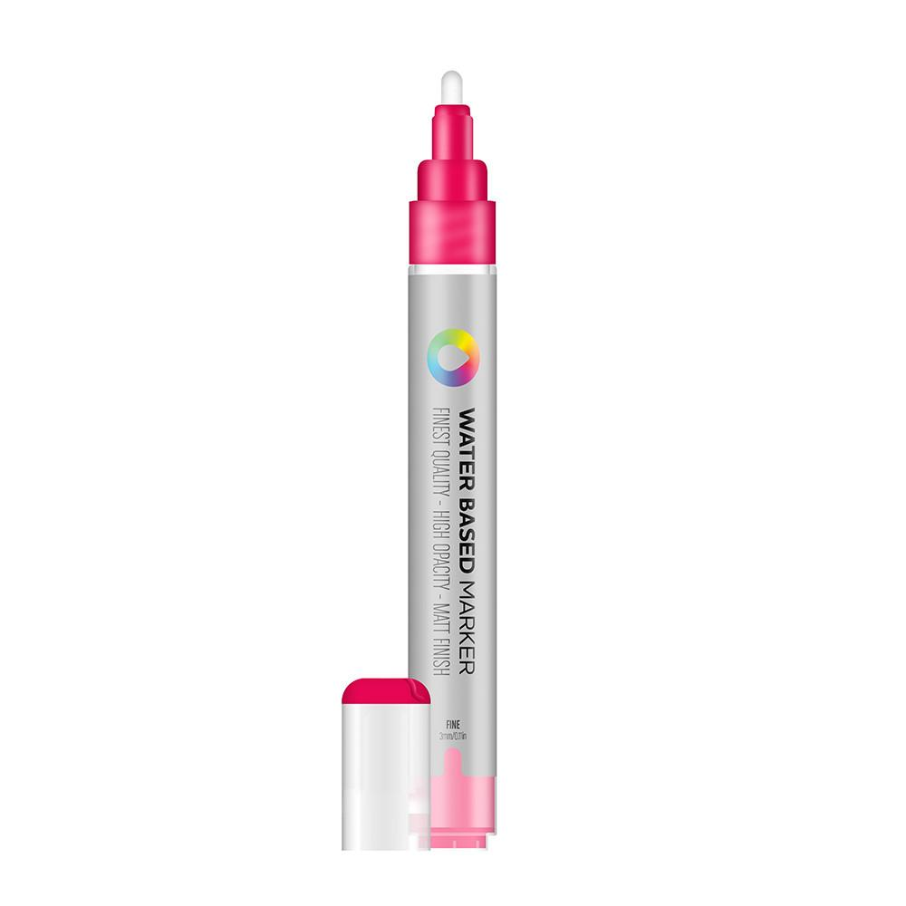 Water Based 3.0mm Marker - Quinacridone Magenta