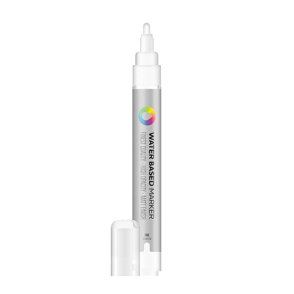 Water Based 3.0mm Marker - Titanium White