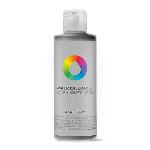 MTN Water Based Paint Refill - 200ml - RV9011 Carbon Black