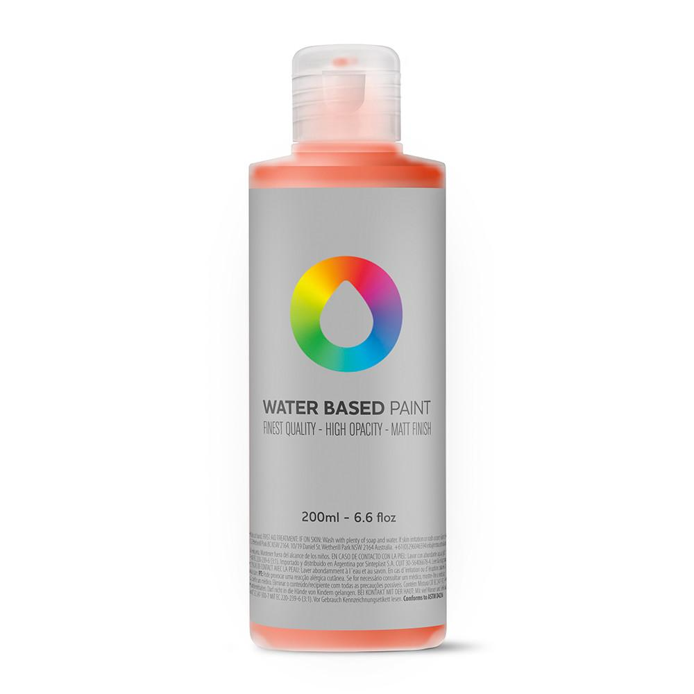 MTN Water Based Paint Refill - 200ml - RV3020 Naphthol Red