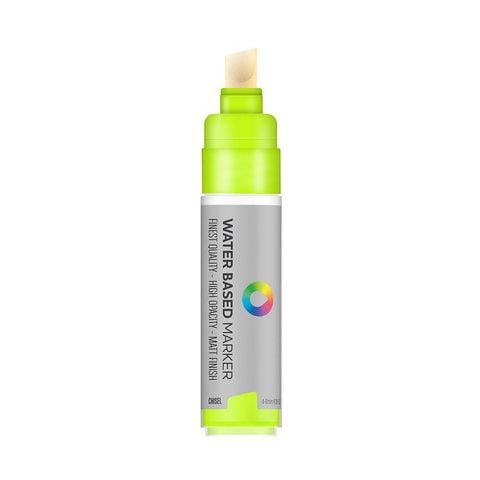 MTN Water Based 8m Paint Marker - Chisel Tip - Brilliant Yellow Green
