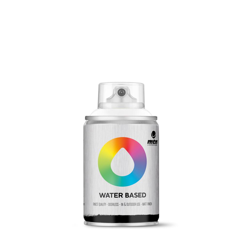 MTN Water based 100ml Spray paint - W1RV9010 - Titanium White