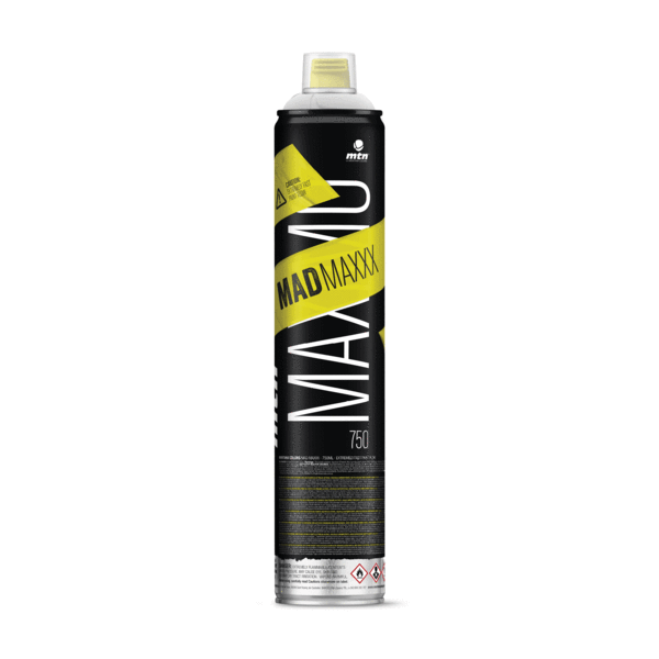 MTN - MAD MAXXX 750ml - Matt White - RV9010
