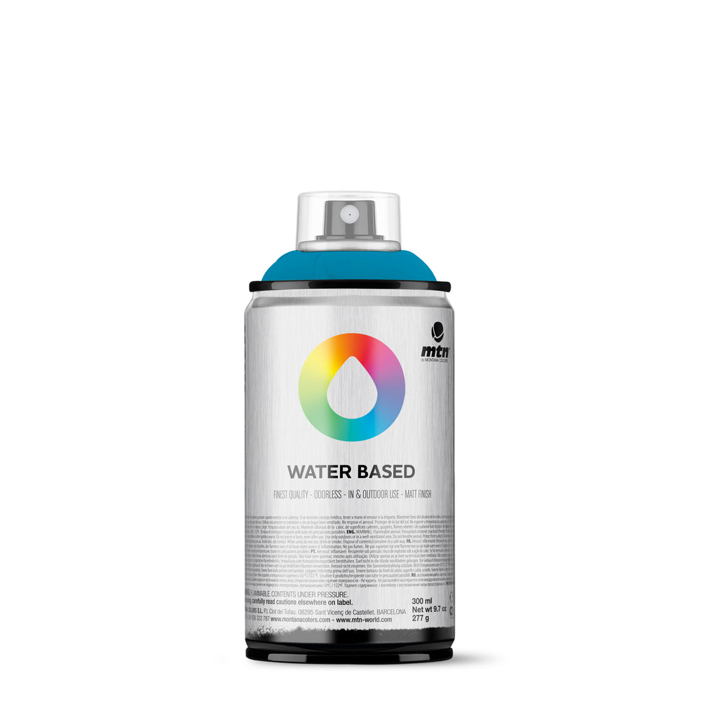 MTN Water Based 300ml Spray Paint - RV343 - Blue Green