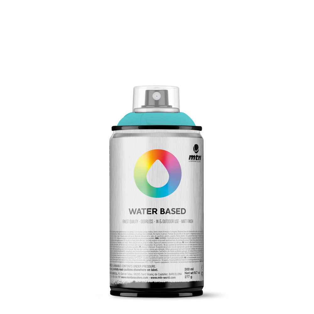 MTN Water Based 300ml Spray Paint - RV341 - Blue Green Pale