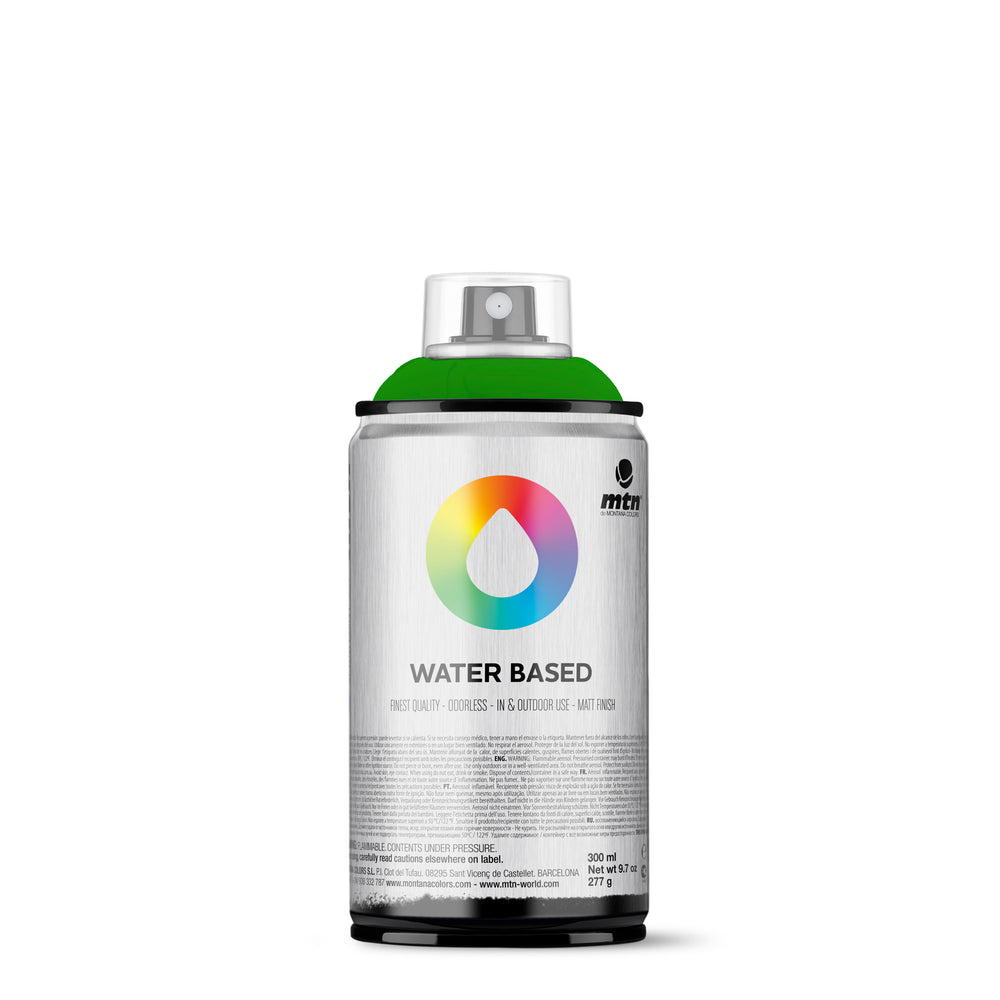 MTN Water Based 300ml Spray Paint - RV334 - Brilliant Yellow Green Deep