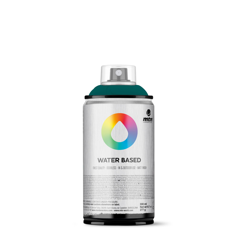 MTN Water Based 300ml Spray Paint - RV221 - Emerald Green Deep