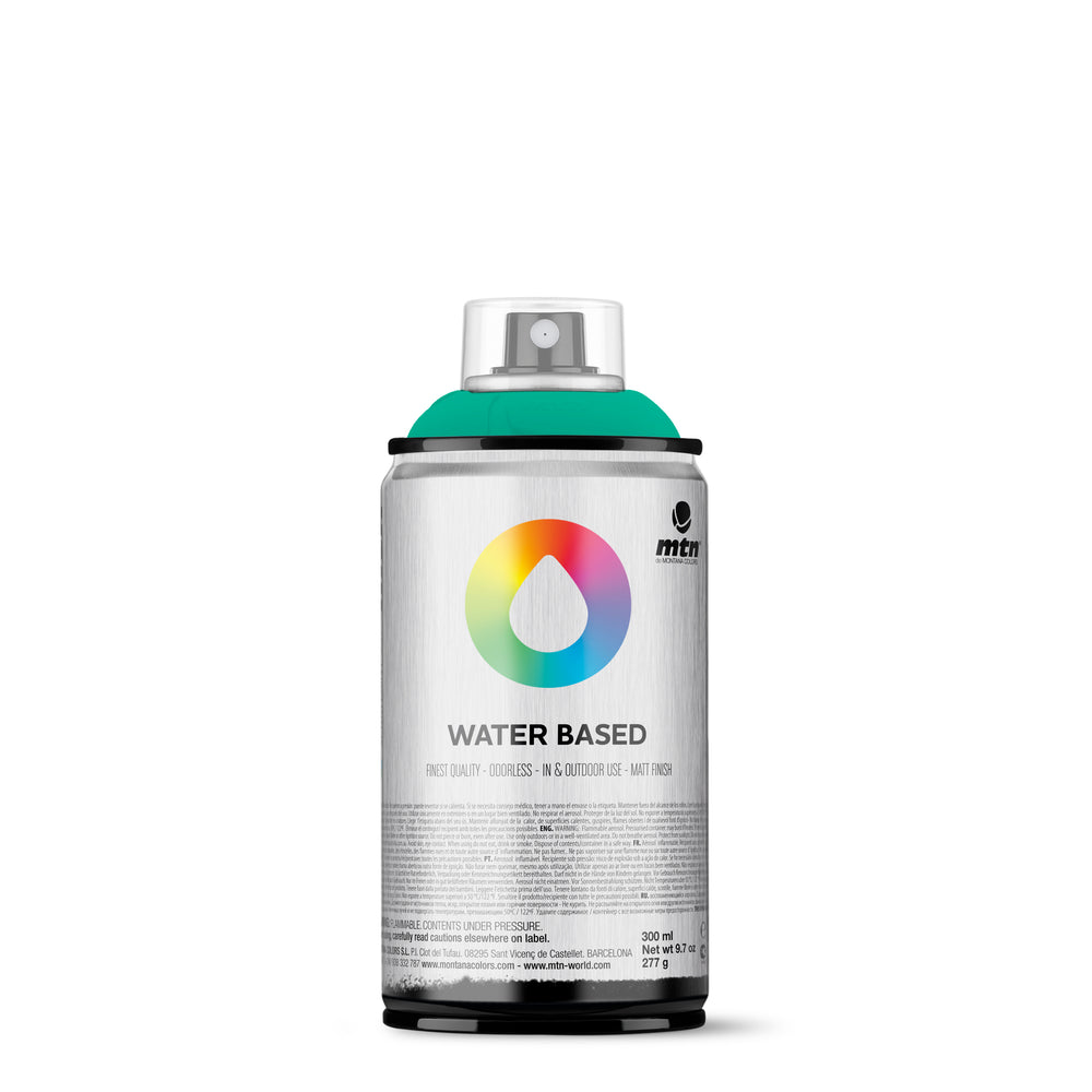 MTN Water Based 300ml Spray Paint - RV220 - Emerald Green Light