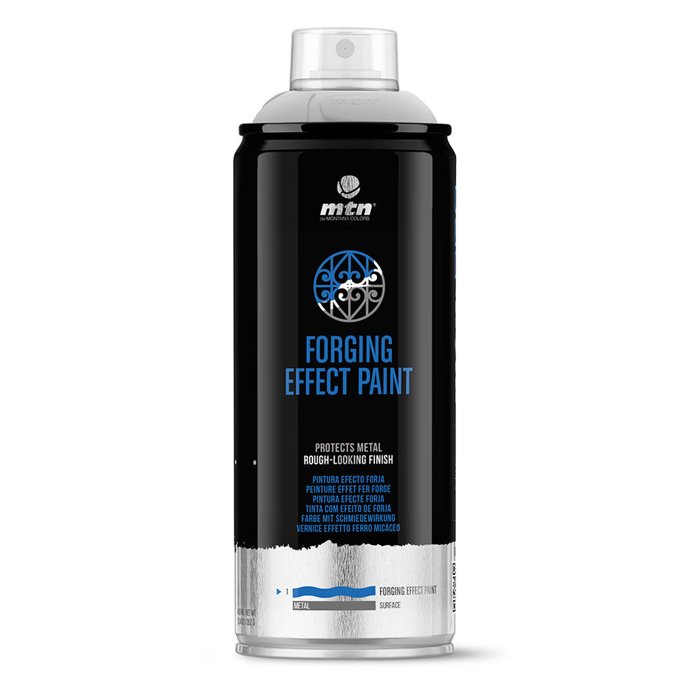 MTN PRO Spray Paint - Forging Effect Paint 400ml - Black