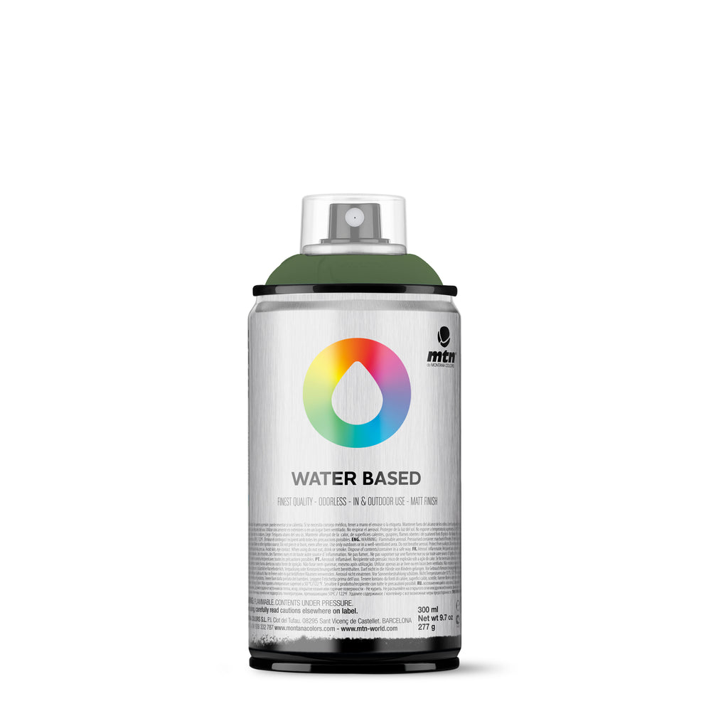 MTN Water Based 300ml Spray Paint - RV131 - Grey Green Deep