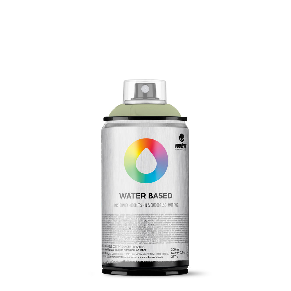 MTN Water Based 300ml Spray Paint - RV345 - Grey Green Light
