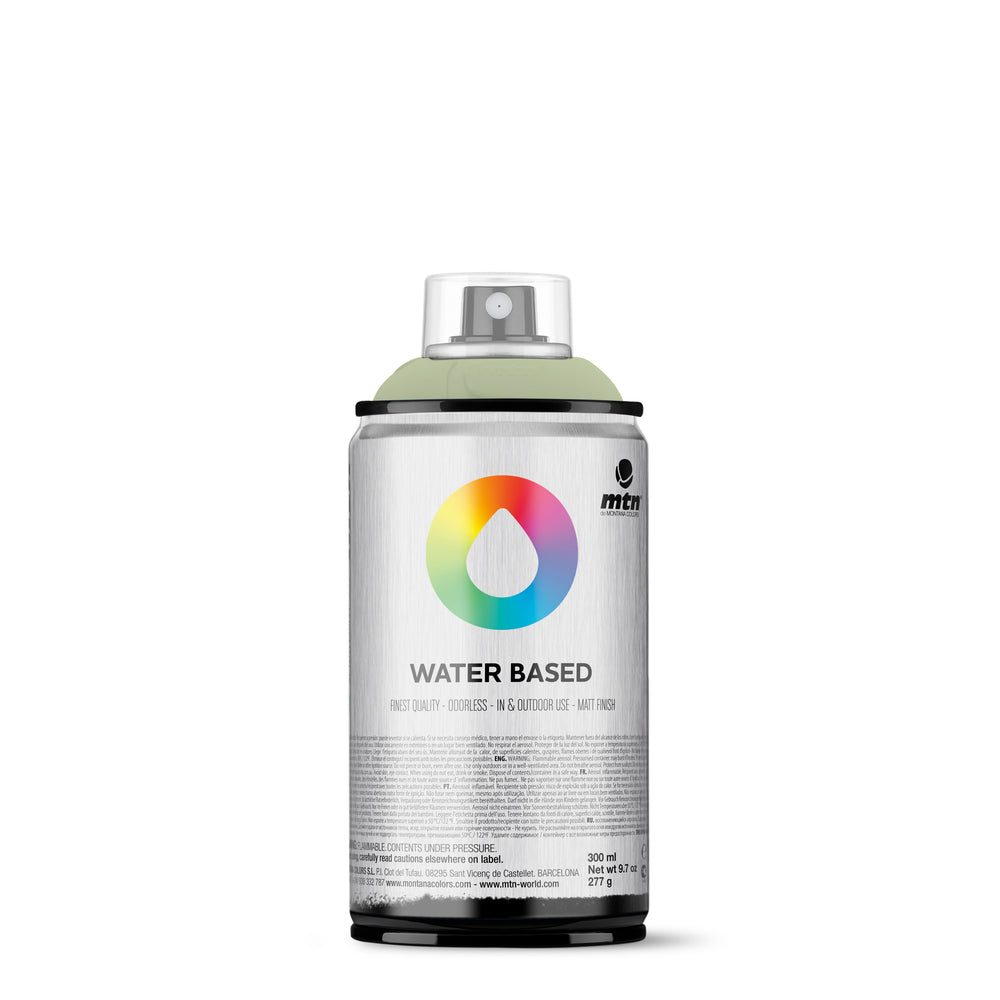 MTN Water Based 300ml Spray Paint - RV344 - Grey Green Pale