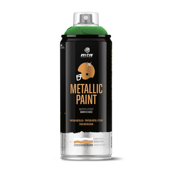 MTN PRO Spray Paint - Metallic Green 400ml
