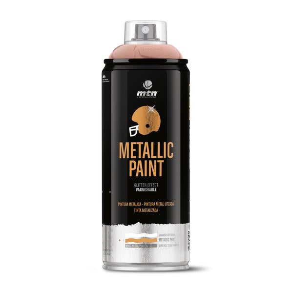 MTN PRO Spray Paint - Metallic Pink Gold 400ml