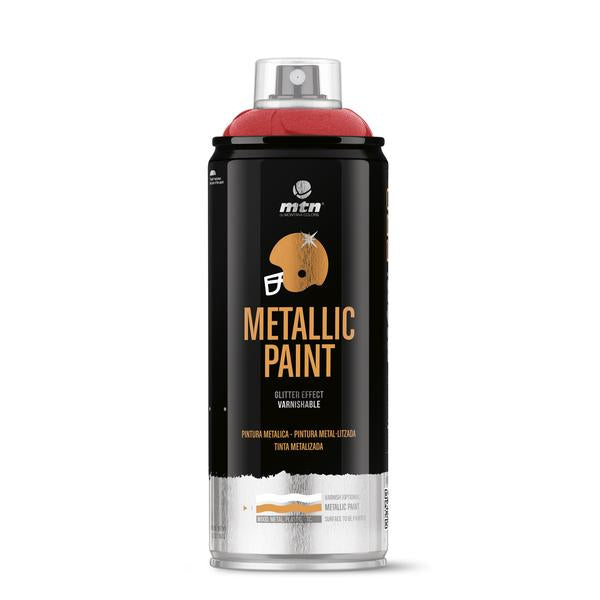MTN PRO Spray Paint - Metallic Red 400ml