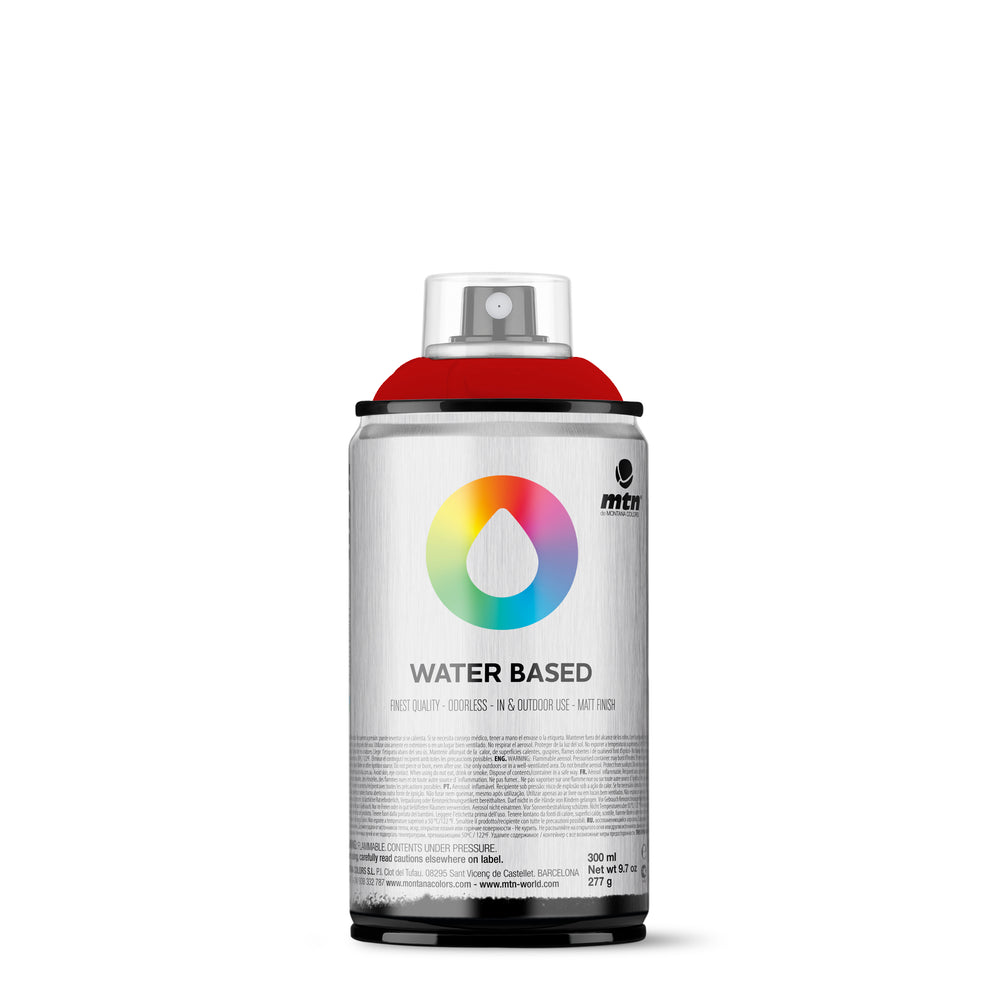 MTN Water Based 300ml Spray Paint - RV241 - Naphthon Red Deep