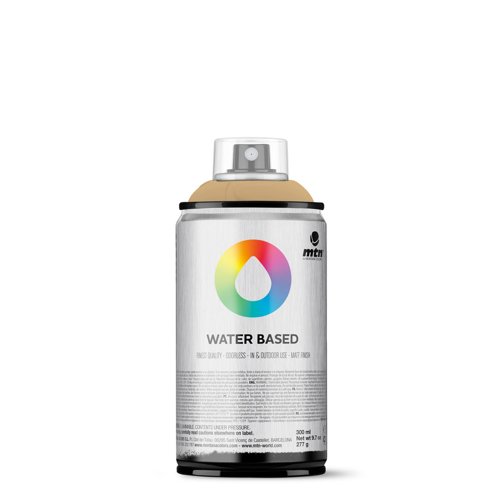 MTN Water Based 300ml Spray Paint - RV330 - Naples Yellow Deep