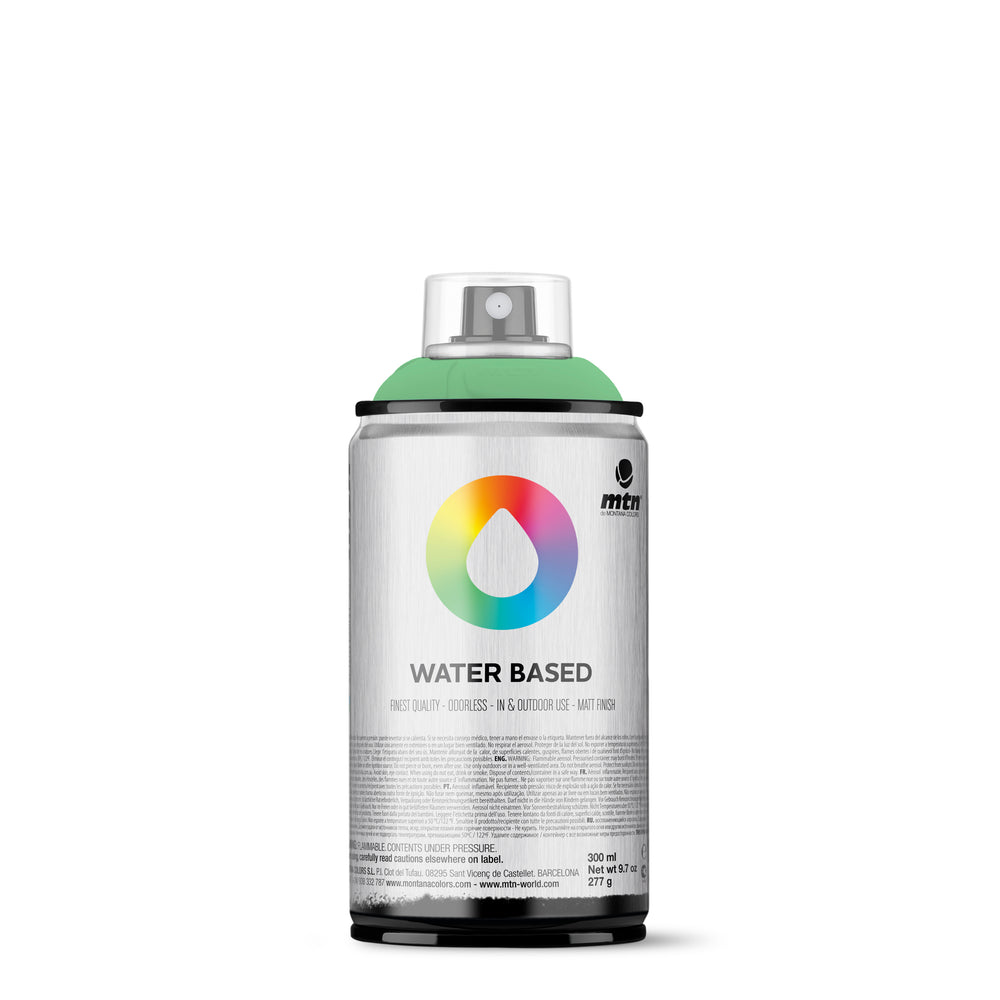 MTN Water Based 300ml Spray Paint - RV329 - Phathalo Green