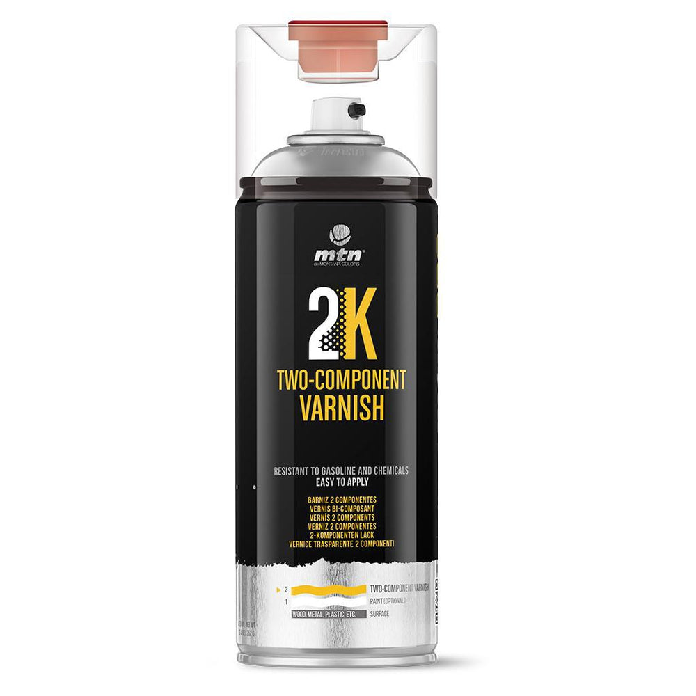 MTN PRO Spray Paint - 2K Two Component Varnish 400ml