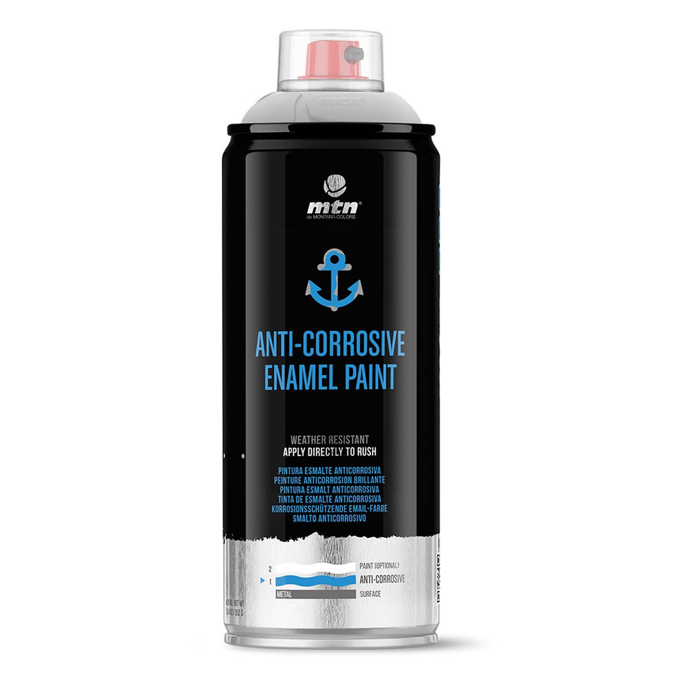 MTN PRO Spray Paint - Anti-Corrosive Enamel Paint 400ml White
