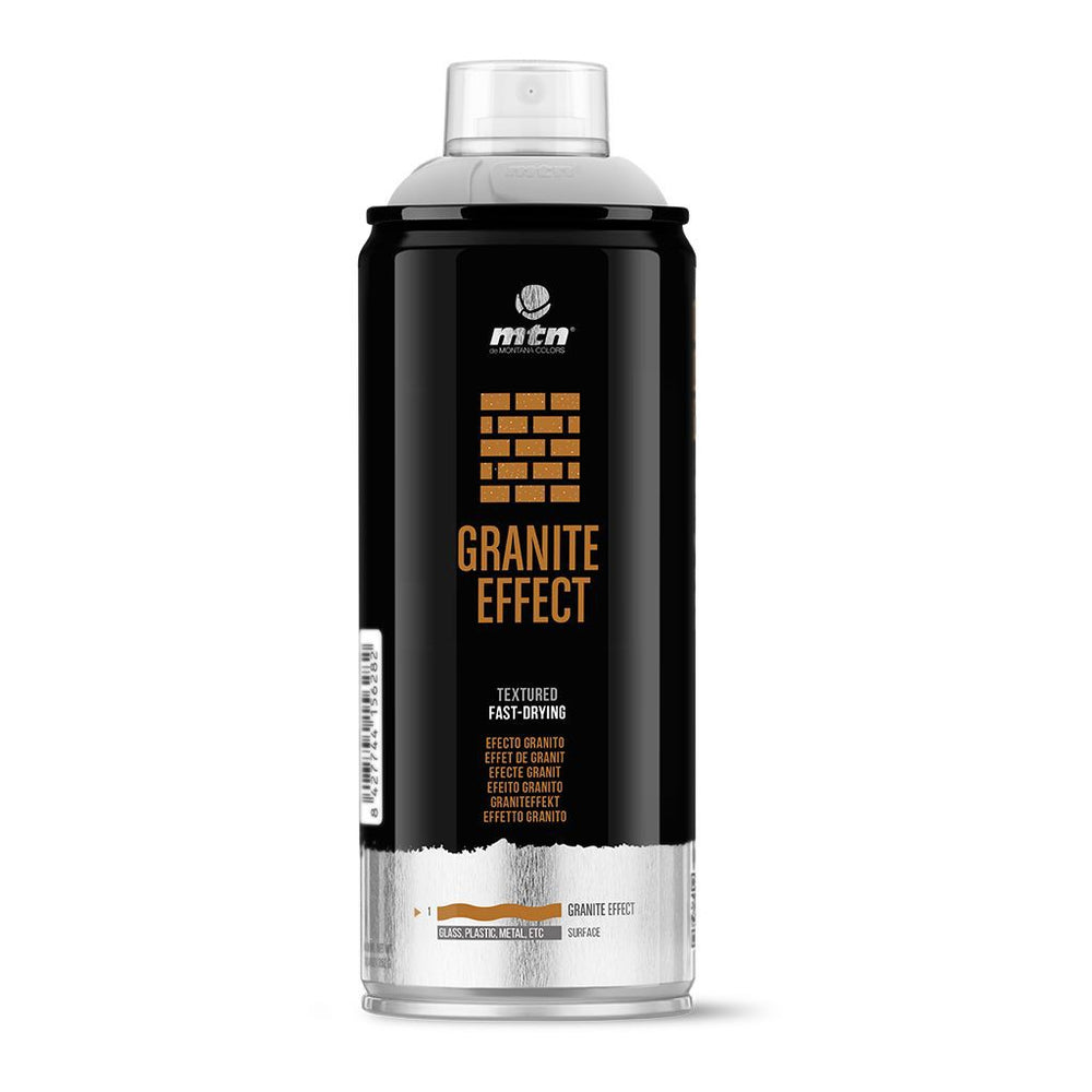 MTN PRO Spray Paint - Granite Effect 400ml - Black
