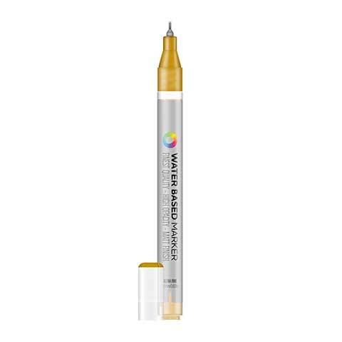 Water Based 0.8mm Marker- Frame Gold
