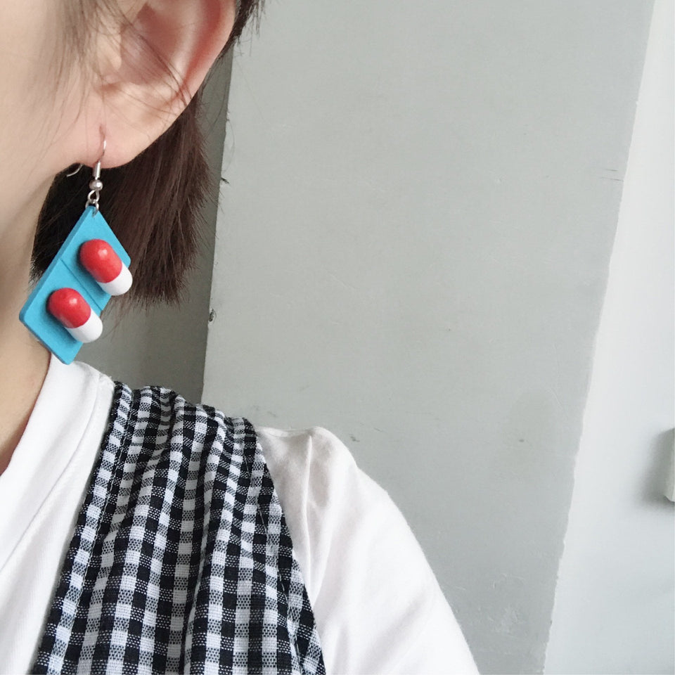 Pills Earrings