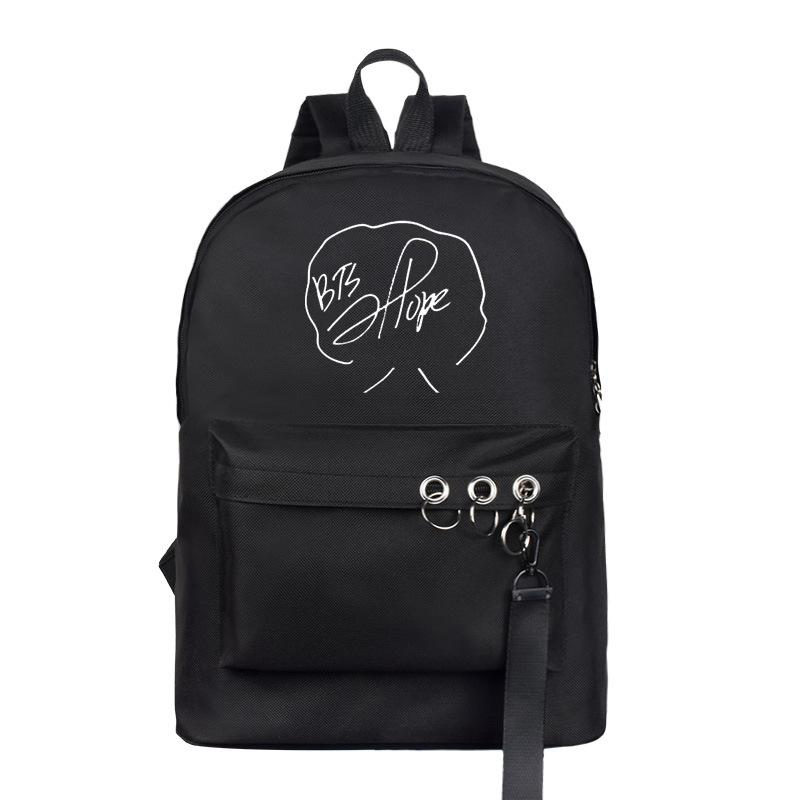 BTS Bias Signature Ring Backpack - Totemo Kawaii Shop