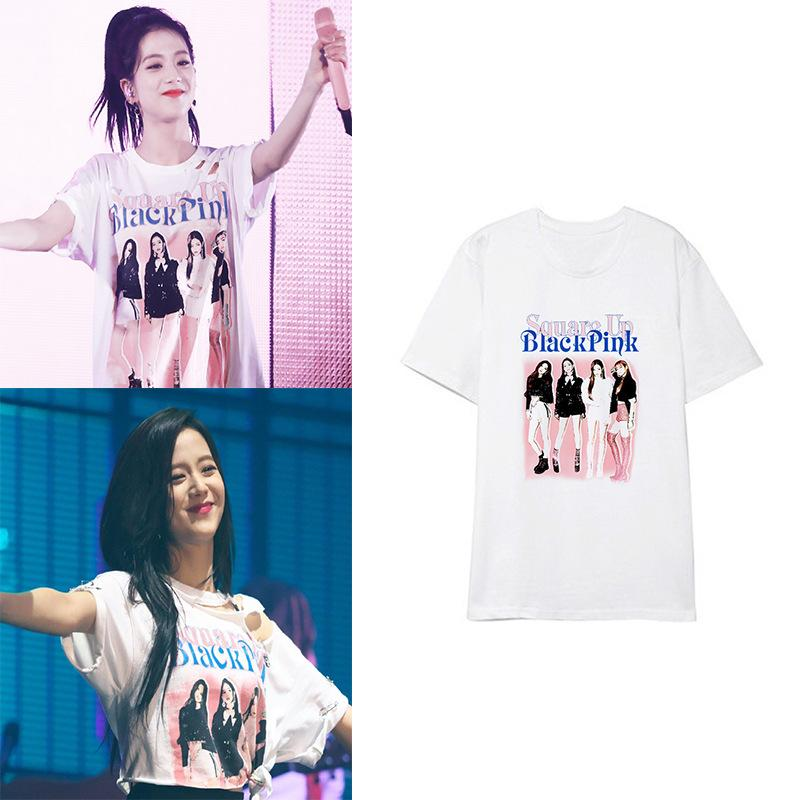 BLACKPINK X JISOO Square Up Tee - Totemo Kawaii Shop