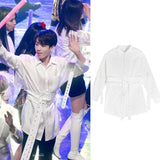 BTS X JUNGKOOK Spring Laced Top