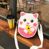Kitty Loves Fish Shoulder Bag