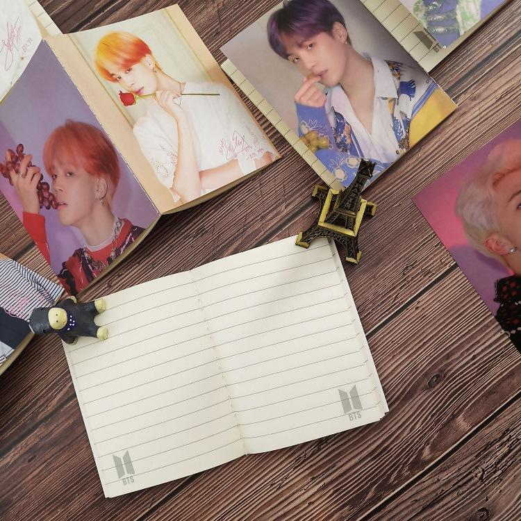 BTS Map Of The Soul PERSONA 'Rose' Notepad