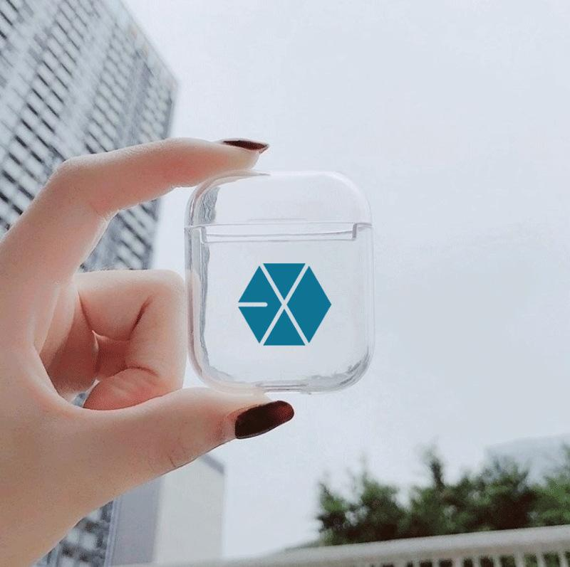 BTS AirPods Transparent Case
