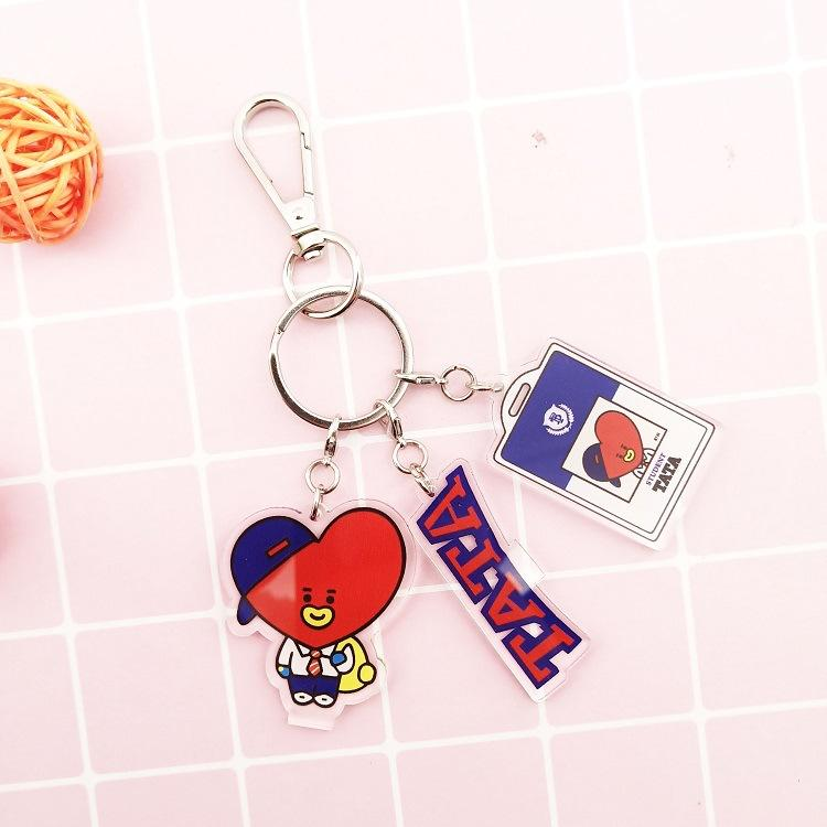 BT21 Student Key Chain