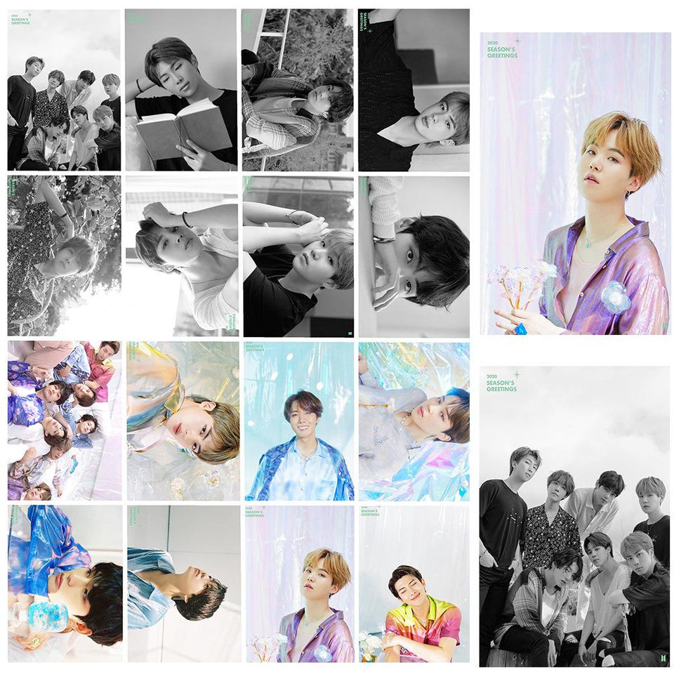 BTS 2020 Season's Greeting Preview Cuts LOMO
