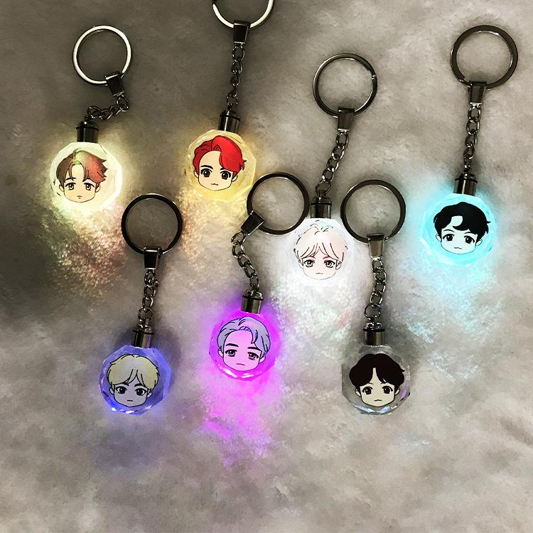 BTS House of BTS Idol Glow Key Chain