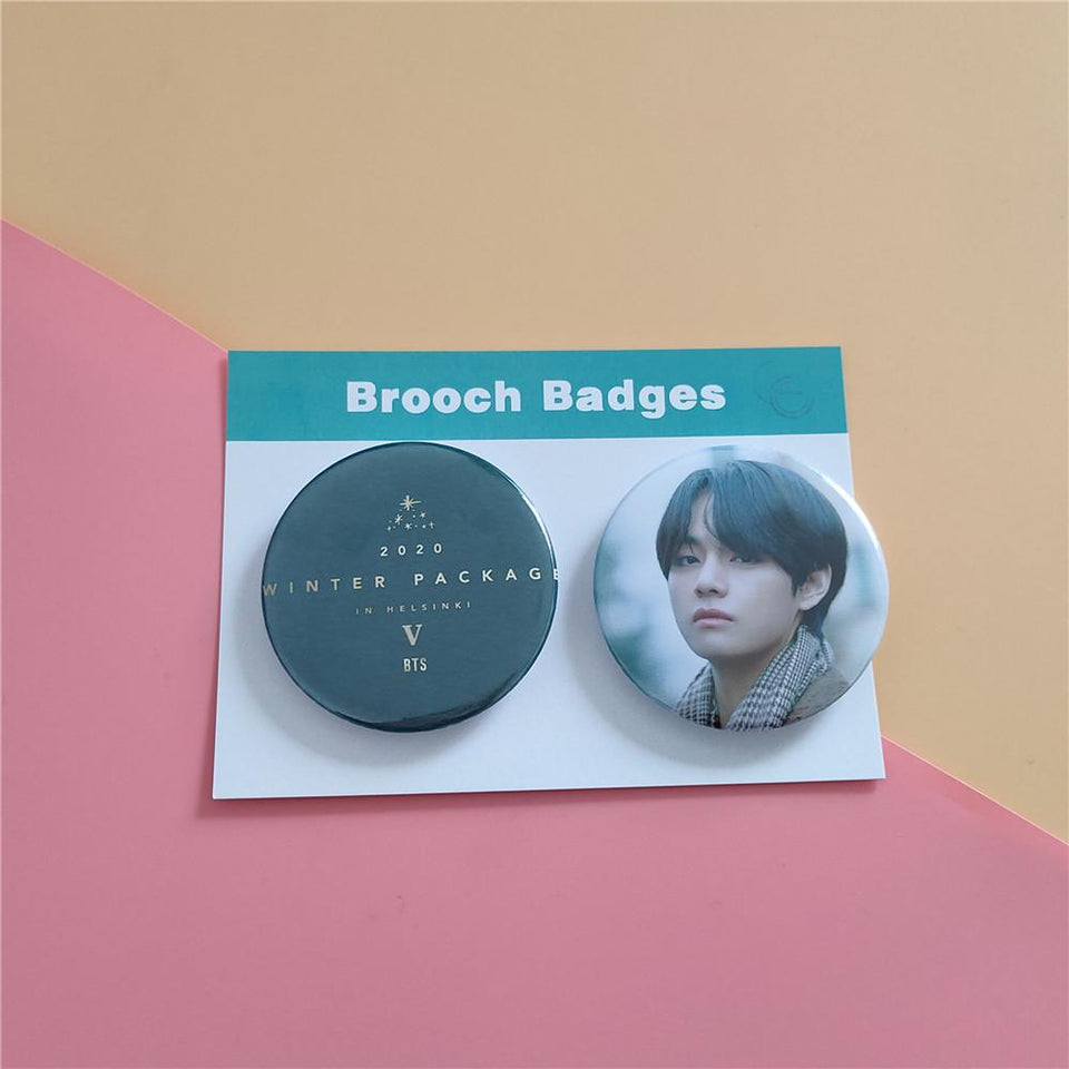 BTS 2020 Winter Package Pin Badge