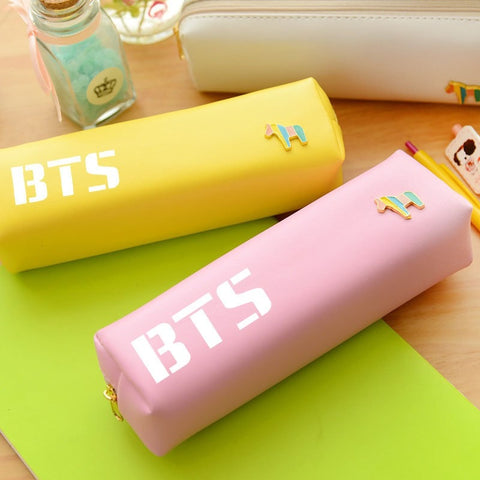 BTS Pastel Pencil Case