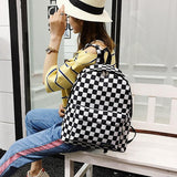 'Checkers' Backpack - Totemo Kawaii Shop