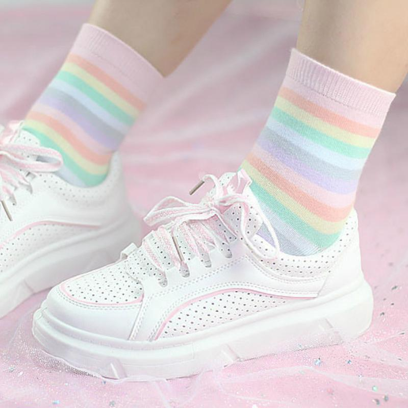 Pastel Socks (Pack of 5)