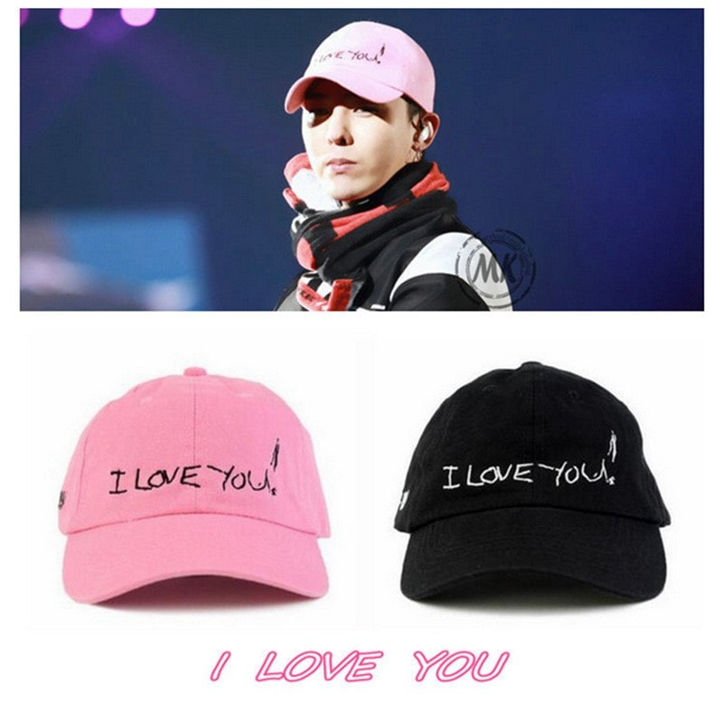G-Dragon BIGBANG I Love You Cap - Totemo Kawaii Shop
