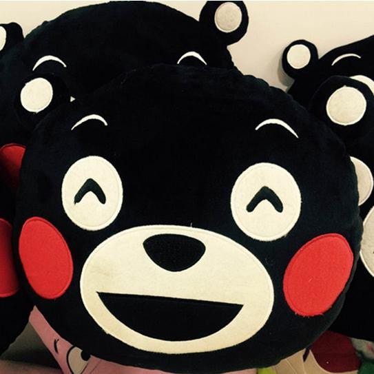 Kumamon Bear Pillow - Totemo Kawaii Shop