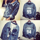 BTS Denim Jacket - Totemo Kawaii Shop